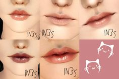 verakasthethird:   IN3S Lipsticks     I was... - Eris Sims 3 CC Finds