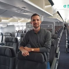 NEW AIRLINE PRODUCT REVIEWExcited to have my latest review up! On Friday I got to be aboard @americanair's inaugural 787-9 long haul flight from #DFW to #Madrid and experience their enhanced #PremiumEconomy service. Check it out at the link in my bio! (@benjaminjtravel)
