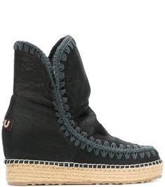 Mou contrast stitch Int Eskimo boots