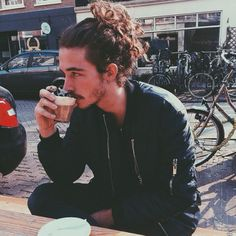 man buns & coffee