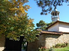 The old Bulgarian Monastery