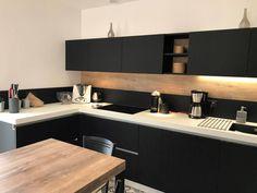Cuisine Noire Et Bois Génial Awesome Cuisine Beige Et Bois Joshkrajcik Joshkrajcik Inspiration – Decoration Maison