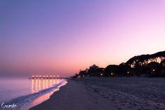 ¿ Qué te gustaría hacer en un atardecer en Marbella? Playa Nagüeles.