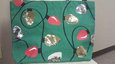 Christmas Tote Mudpie Christmas, Mud Pie, Four Square, Advent Calendar, Holiday Decor, Home Decor, Homemade Home Decor, Decoration Home, Room Decor