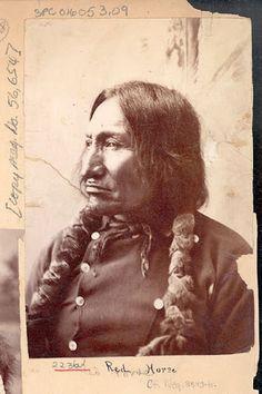Red Horse - Mniconjou - 1883