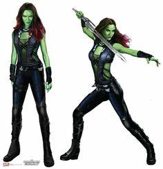Gamora Concept Art