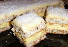 Brak na magazynie 😎 Regina prajiturilor de Craciurn! Se face rapid si e delicioasa Best Pastry Recipe, Pastry Recipes, Sweets Recipes, Cookie Recipes, Romanian Desserts, Romanian Food, Hungarian Recipes, Pastry Cake, Sweet Tarts