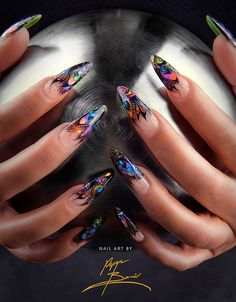 By Pepyn Borrèl~  love the design.  hate the nails!