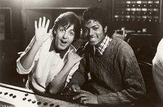 McCartney and Michael Jackson