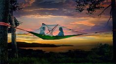 It's almost summer. Hanging / suspended tents anyone?