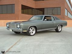 1970 Chevy Monte Carlo Eddie, Hurry up with the restoration of your '71 Monte! I wanna go cruizin' man!