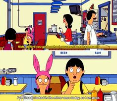 "22 Times ""Bob's Burgers"" Nailed Parenting - funny photo hilarious Funny Kids, Funny Cute, The Funny, Hilarious, Funny Jokes, Bobs Burgers Memes, Bob S, My Spirit Animal, Best Shows Ever"