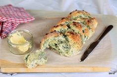 Spinach and Feta Plait from Baking Makes Things Better.