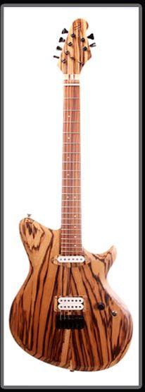 Lowland Guitars Zebra