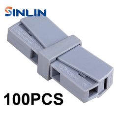 23.20$  Watch here - http://alib9p.shopchina.info/go.php?t=32796174050 - 100PCS WAGO 224-201 Single 1 pin cable wire connecting for lamp 0.5-2.5mm2 flexible cable connectors 23.20$ #shopstyle