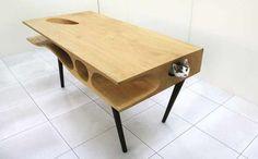 CATable, il tavolo per far divertire i gatti (mentre voi lavorate)