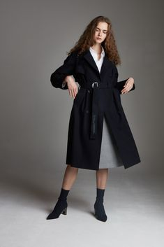 Winter Trench Coat, Wool, Jackets, Collection, Black, Fashion, Down Jackets, Moda, Black People