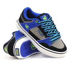 DVS scarpe bambino Ignition CT 33 35 36 nero grigio blu skate youth kids shoes