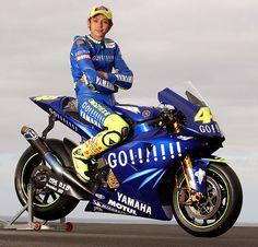 2004 : Yamaha YZR-M1 : Team Gauloises Fortuna Yamaha : World Champion