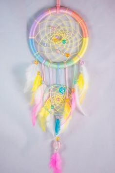 Pastel Dream CatcherRainbow Dream CatcherEtsy GiftHome | Etsy