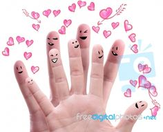#happiness #happy #fingers #smile #love