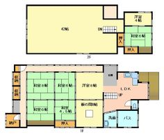 The online portfolio of Murakami House . Japanese Style House, Traditional Japanese House, Floor Graphics, Japanese Architecture, House Floor Plans, House Design, Minecraft Ideas, Tiny Living, Living Spaces