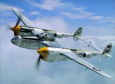 About seventy years ago, this gorgeously preserved Lockheed P-38 Lightning, one of the coolest fighter planes of WWII, went into the drink near Wales. The pilot, Lt Robert Elliott, survived the inc...