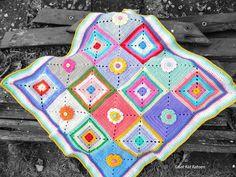 Kat Kat Katoen: Baby Blanket: Joy of colours