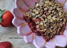 Strawberry Rhubarb Cobbler: made with #inseason #rhubarb #strawberries and #glutenfree oat topping, this #vegan dessert is sure to please all! #springdesserts #strawberryrhubarb #vegandesserts #vegancobbler #glutenfreedesserts #gardenfreshfoodie www.gardenfreshfoodie.com