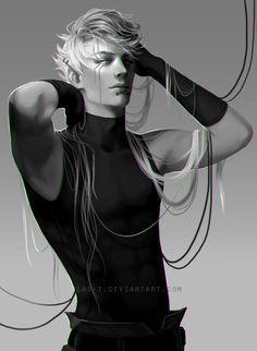 Caim (oc character fanart) by LAS-T at DeviantART