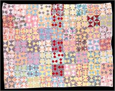 Broken dishes quilt by Dorothy Lambert White.  Photo courtesy of The Old State House website.