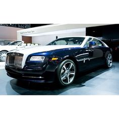 2014 Rolls-Royce Wraith! would love to drive this!