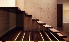 Escalier suspendu de design moderne en 55 exemples spectaculaires