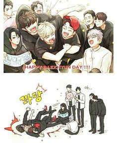 Save them from themselves Baekhyun Fanart, Kpop Fanart, Kpop Exo, Exo Stickers, Exo Songs, Exo Anime, Exo Couple, Exo Fan Art, Exo Memes