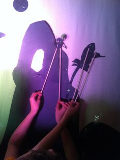 Shadow Puppetry in Jambo! World Theatre class at Theatre Arts School of San Diego.#TheatreArtsSchoolOfSanDiego  #TAS+SD  #creativekids