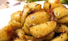 batatas rusticas com alecrim Petiscos para tomar com cerveja que você pode fazer em casa