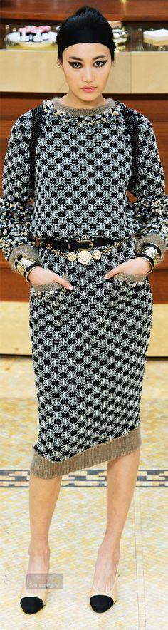 Chanel RTW AW 2015-16 #BrasserieGabrielle Visit espritdegabrielle.com | L'héritage de Coco Chanel