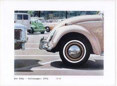 Don-Eddy-Volkswagen-1971-Photogravure-digitale-Photorealism