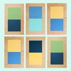 Dress up your walls with painted plywood boards. They're as attractive as they are easy to make.