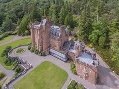Pictured: Glenborrodale Castle, A 20th Century Baronial Home In The  Scottish Highlands, Is