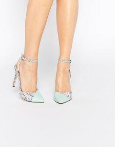 Image 1 ofASOS PAVILLION Pointed High Heels