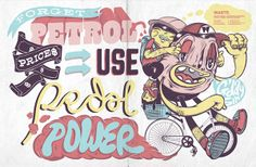 Fixed & Two by Alex Fowkes, via Behance