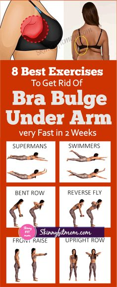 8 Best Exercises To Get Rid Of Bra Bulge Under Arm Fast in 2 Weeks - Skinnyfitmom Underarm Workout, Bra Fat Workout, Arm Pit Fat Workout, Waist Workout, Armpit Fat Exercises, Workout Gear, Slim Arms Workout, Boxing Workout, Workout Guide