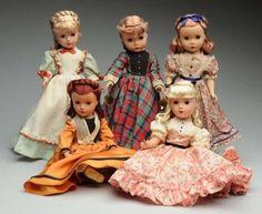 """Madame Alexander """"Little Women"""" Dolls. Lot 155"""