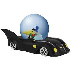 Batman Batmobile Snow Globe