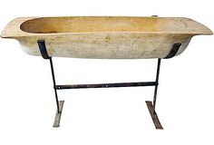 I have to wood bread dough trough, but it is so big, don't know what to do with it!