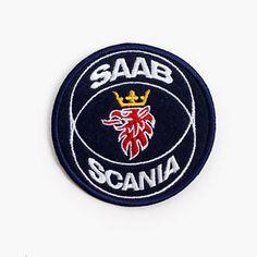 Saab Scania Embroidered Vintage Racing Automobile Car Patch Badge Emblem   eBay