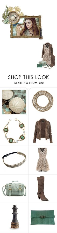 """""""queen margaery tyrell"""" by summersdream ❤ liked on Polyvore featuring Universal Lighting and Decor, Sage & Co., AllSaints, Chanel, Jolie Moi, Charlotte Russe, GUESS, Cyan Design and Vanities"""