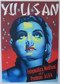 Surrealism Graphic Design - Yu Li San c. 1950