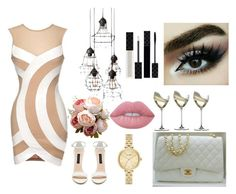 """""""simply beautiful"""" by susanazizumbo on Polyvore featuring Forever New, Riedel, Gucci, Kate Spade and Lime Crime"""